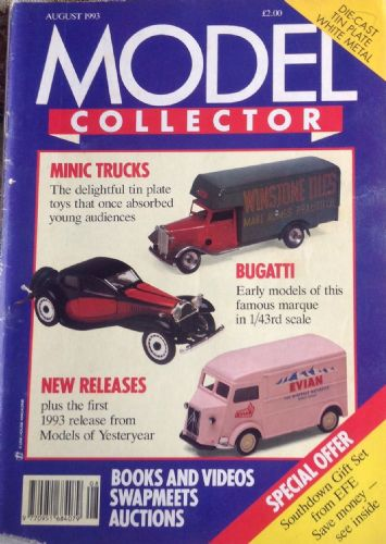 ORIGINAL MODEL COLLECTOR MAGAZINE August 1993